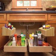 Seemly Kitchen Storage Spots Forgetting