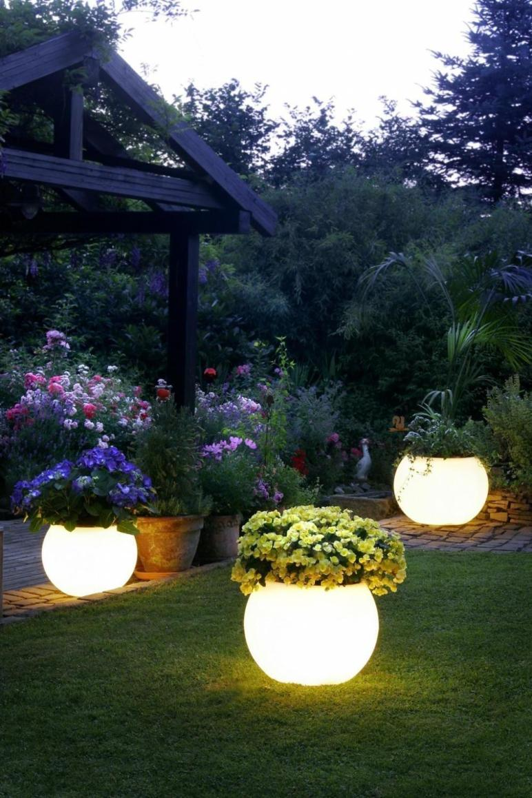 Setting Outdoor Garden Lights Magruderhouse