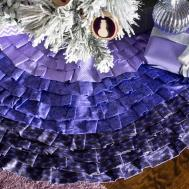 Sew Ombre Tree Skirt Easy Crafts Homemade