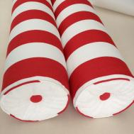 Sew Passionate Bolster Pillow Button Tufted Flat Ends