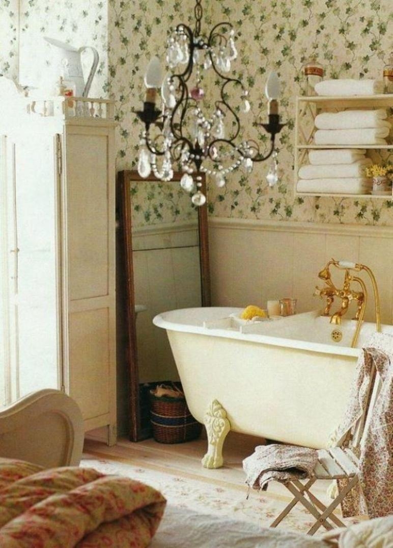 Shabby Chic Bathroom Design Ideas Get Inspired