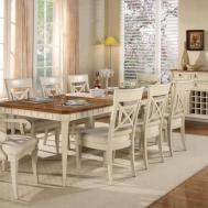 Shabby Chic Dining Room Incredible Decoration
