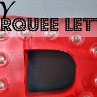 Shabby Nest Diy Light Marquee Letter