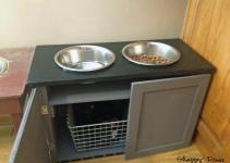 Shabby Remix Diy Dog Feeders
