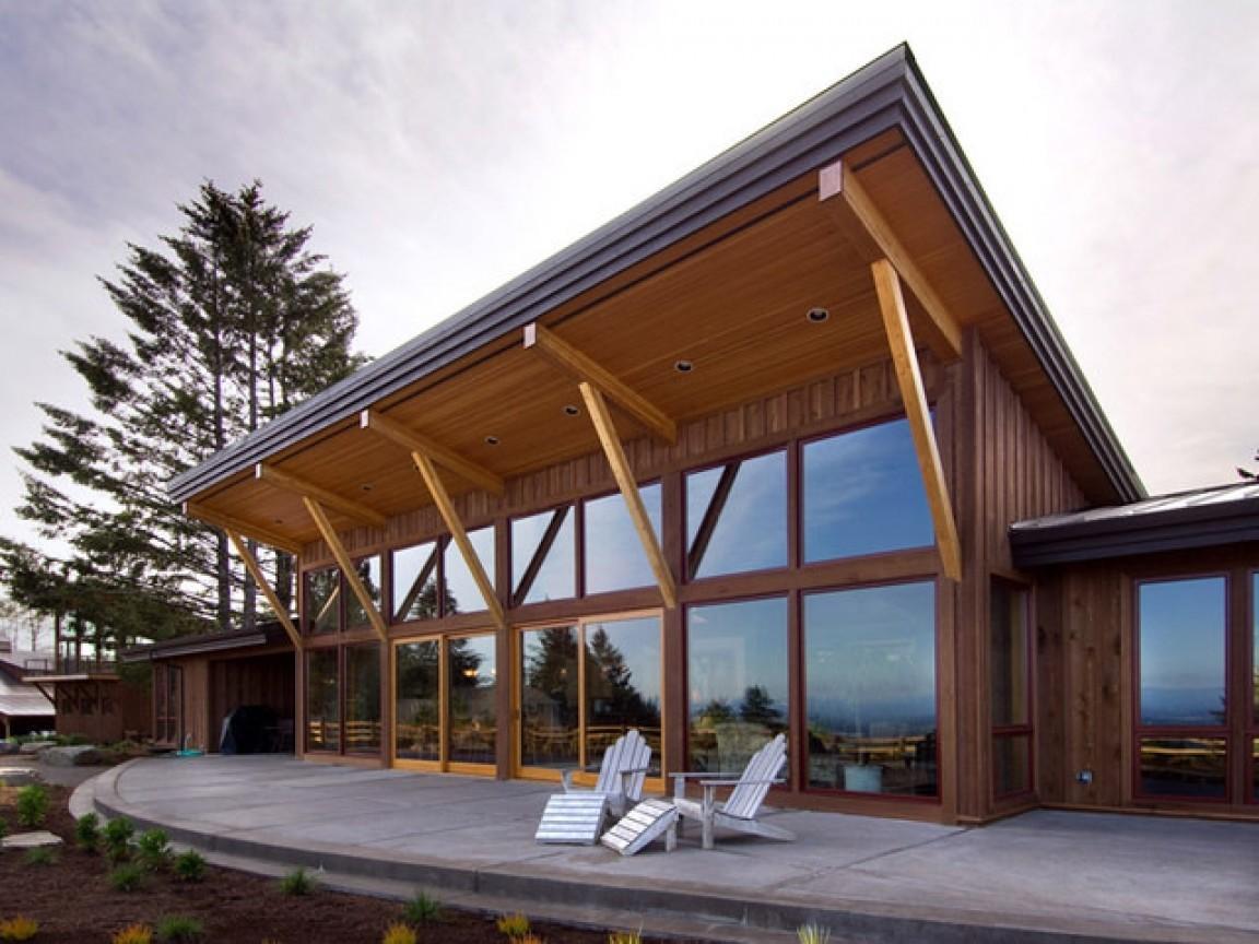 Shed Roof House Designs Modern Truss Design Decoratorist 98608