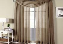 Sheer Curtain Valances Semi Rod Pocket Curtains