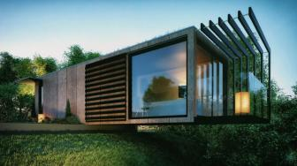 Shipping Container Architect House Design Within