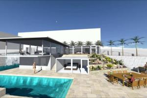 Shipping Container Beach House Design