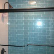 Shop Loft Turquoise Polished Glass Tiles Tilebar