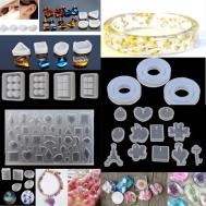 Silicone Pendant Molds Resin Diy Making