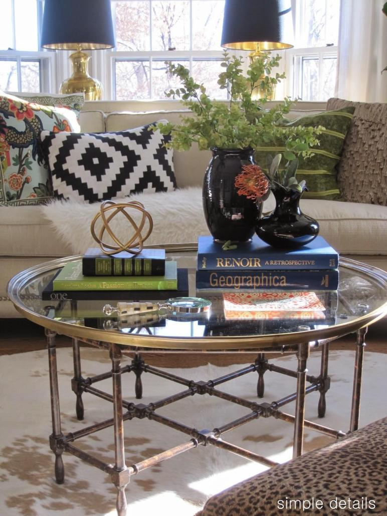 Simple Details Coffee Table Reveal Styling Tips
