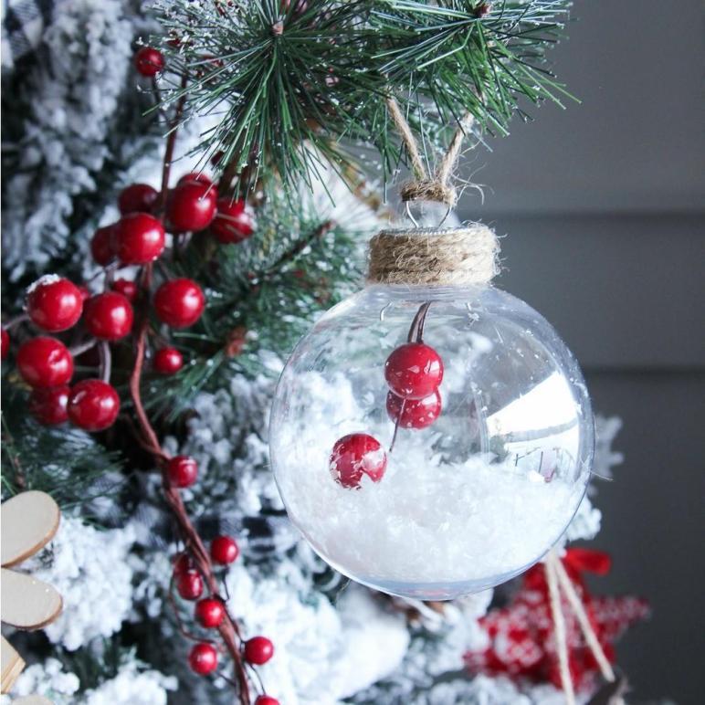 Simple Diy Christmas Ornaments Happy Housie