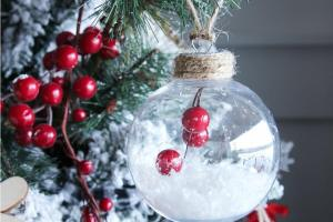 Simple Diy Christmas Ornaments Happy Housie