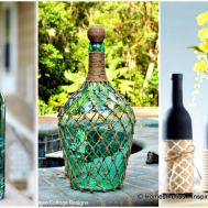 Simply Breathtakingly Ingenious Wine Bottle Crafts
