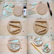 Sincerely Kinsey Stained Glass Coaster Diy