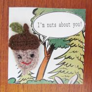 Sister Outlaws Diy Valentine Card Crochet Brooch
