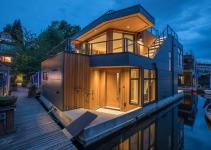 Sleek Modern Floating Home Portage Bay Curbed Seattle