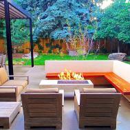 Sleek Modern Outdoor Living Space Park Hill Mile High