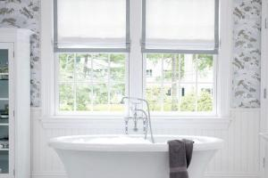 Small Bathroom Window Curtains Creative Mom