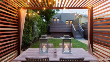 Small But Beautiful Backyards Urban Oasis
