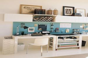 Small Desk Organization Ideas Shared Home Office