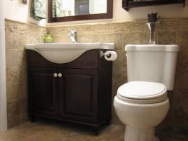 Small Half Bathroom Ideas Budget Modern Double Sink