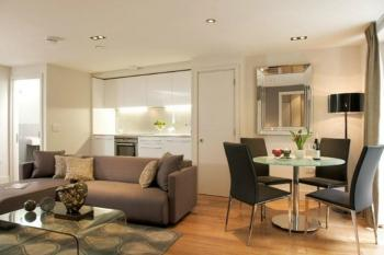 Small Living Room Layout Combined Chic Dining