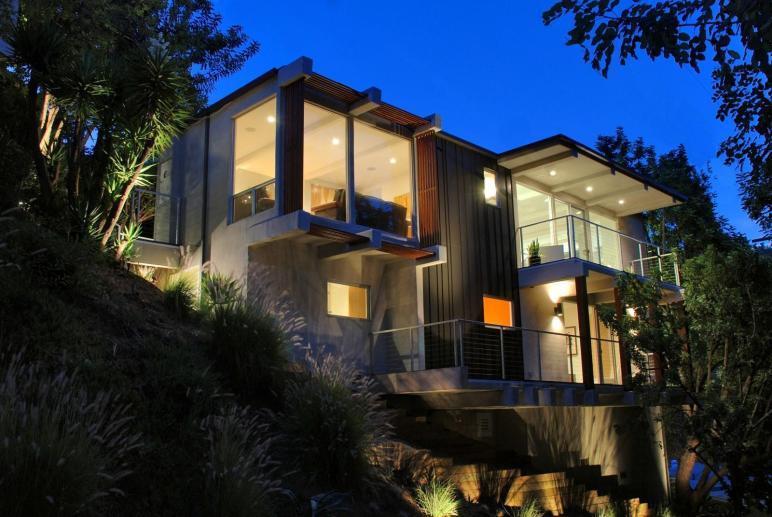 Small Modern Hillside House Plans Attractive Design