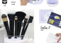 Sobbing Fifth Diy Makeup Brush Holder