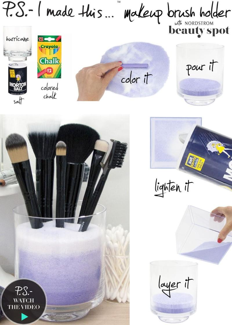 39 Stylish Diy Makeup Brush Storage