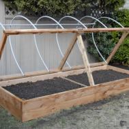 Soil Mix Diy Raised Garden Planter Box Using Recycled