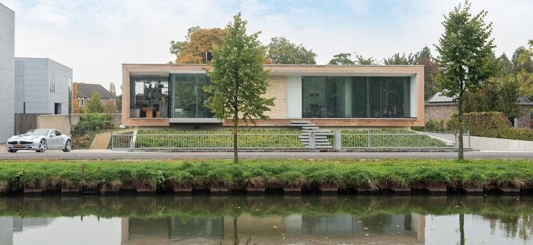 Solar Powered House Light Filled Modern Dutch Villa