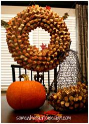 Somewhat Quirky Make Wine Cork Wreath Fall Fix