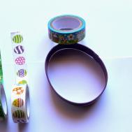 Sono Mondo Easter Egg Con Washi Tapes