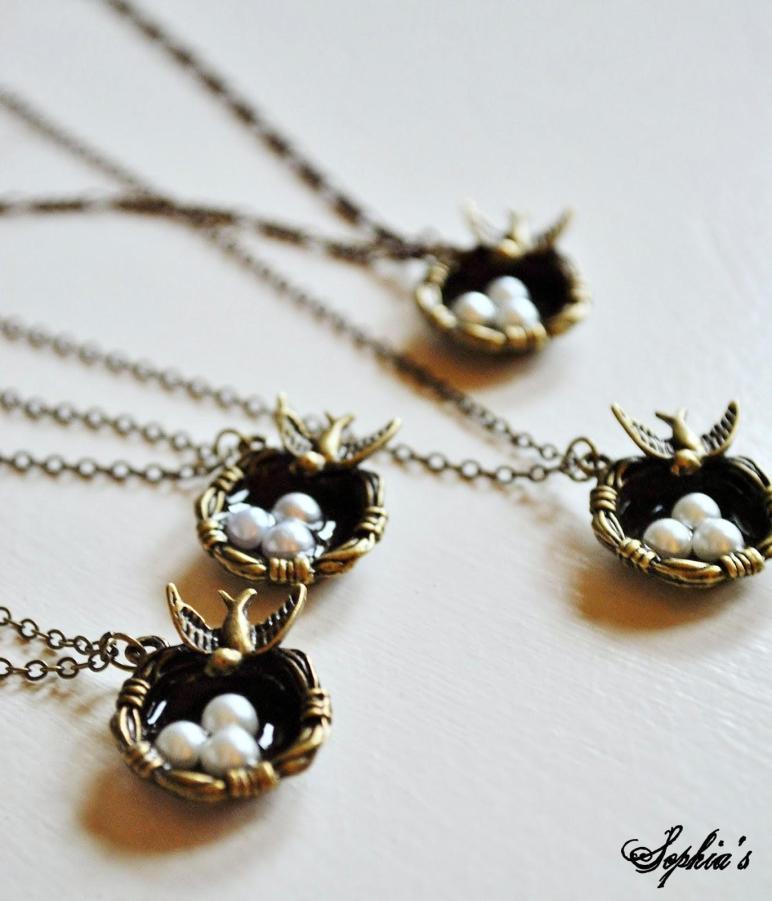 Sophia Spring Inspired Jewelry Simple Bird Pendant