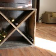 Sparkling Wine Rack Diy Easy Fresh