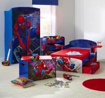 Spiderman Toddler Bed Boys Bedroom Set