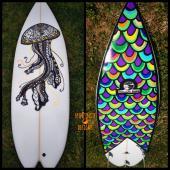 Spinfinite Designs Surfboard Art