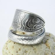 Spoon Ring Silverware Jewelry Reed Californiaspoonrings