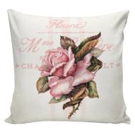 Spring Pillows Botanical Roses Floral