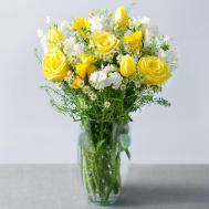 Spring Sunshine Flowers Post Bunches