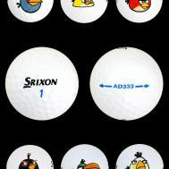 Srixon Angry Birds Ad333 Golf Balls New