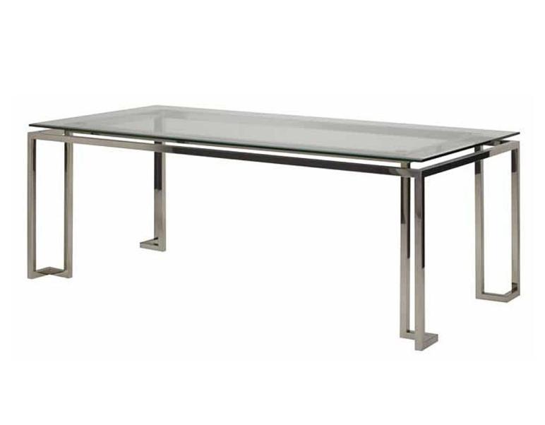 Stainless Steel Dining Room Table Marceladick