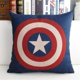 Star Cotten Linen Throw Pillow Case Cushion Cover
