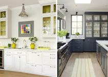 Stephmodo Gorgeous Gray Kitchen Yellow Accents