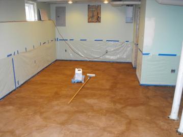 Steps Easy Painting Basement Floors Homesfeed