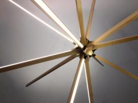 Stickbulb New Boom Led Lamp Made Reclaimed Wood