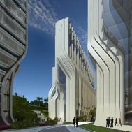 Stone Towers Zaha Hadid Architects