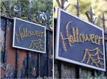 String Art Hilorama Halloween Handbox Craft Lovers