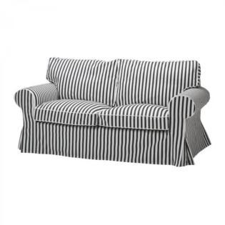 Striped Sofa Slipcover Finally Organic Cotton Slipcovers